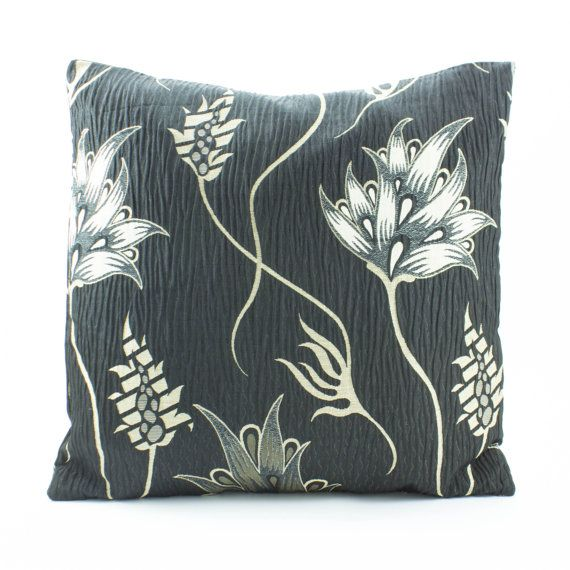 Textured Decorative throw Pillow Cover 18x18 inch Cotton Silk