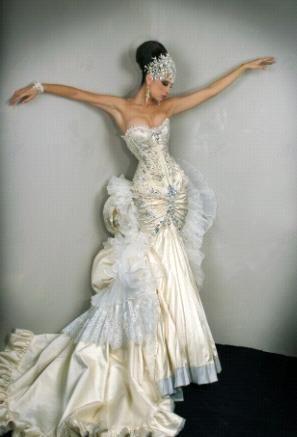 alberto rodriguez corset gown | alberto rodriguez | pinterest