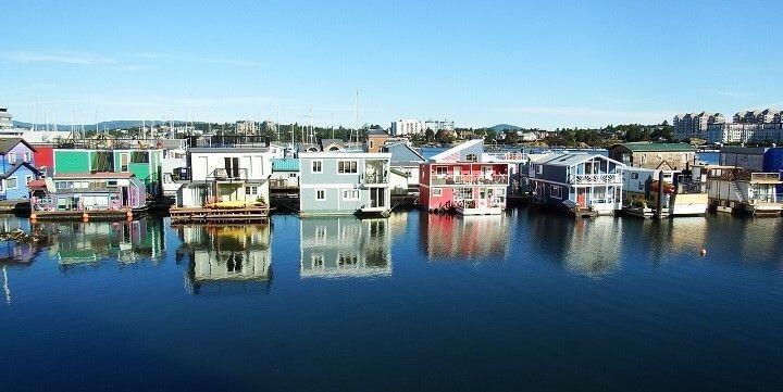 Fisherman's Wharf, Vancouver Island, British Columbia, Canada
