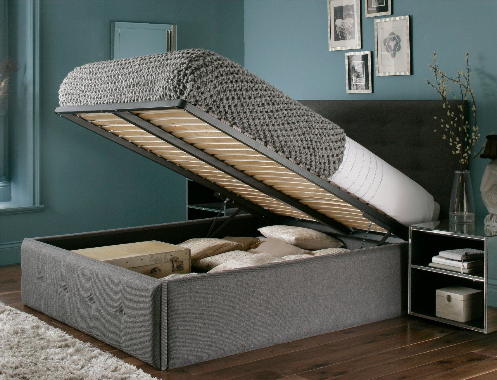 Reminds me of my rv bed home sweet home pinterest for Cama otomana