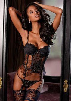 in women lingerie black Hot sexy