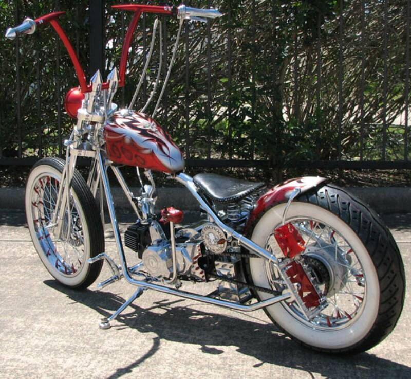A bobber is a custom motorcycle that usually has had the front ...