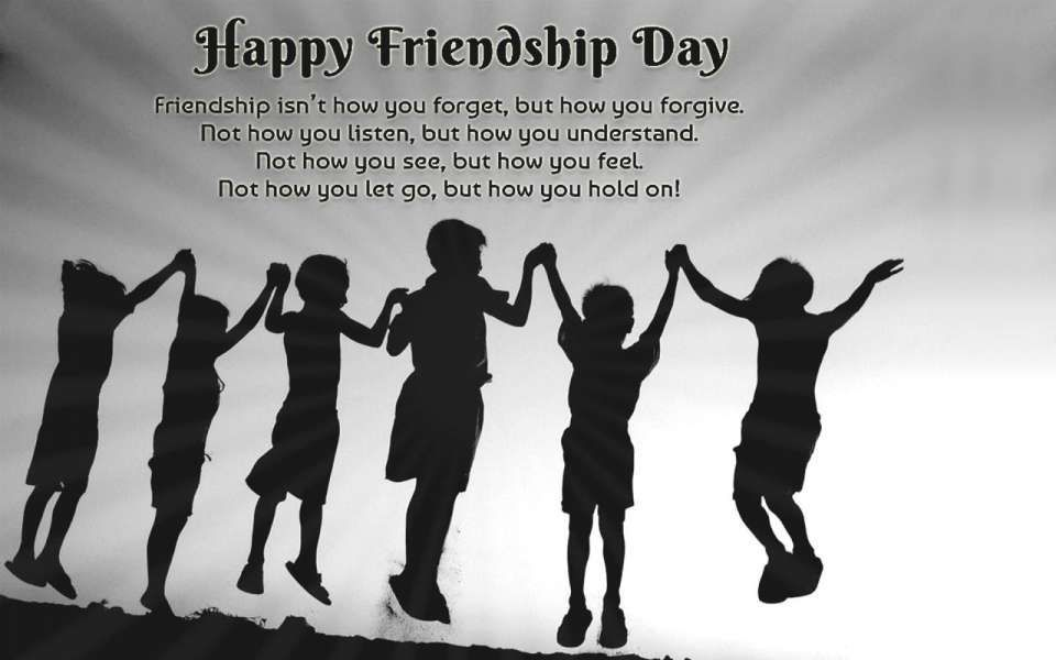 8+ Friendship Day Quotes Pics Hd - Friendship Quote - Quoteslics.com in 2020   Happy friendship day quotes, Friendship day quotes, Happy friendship day