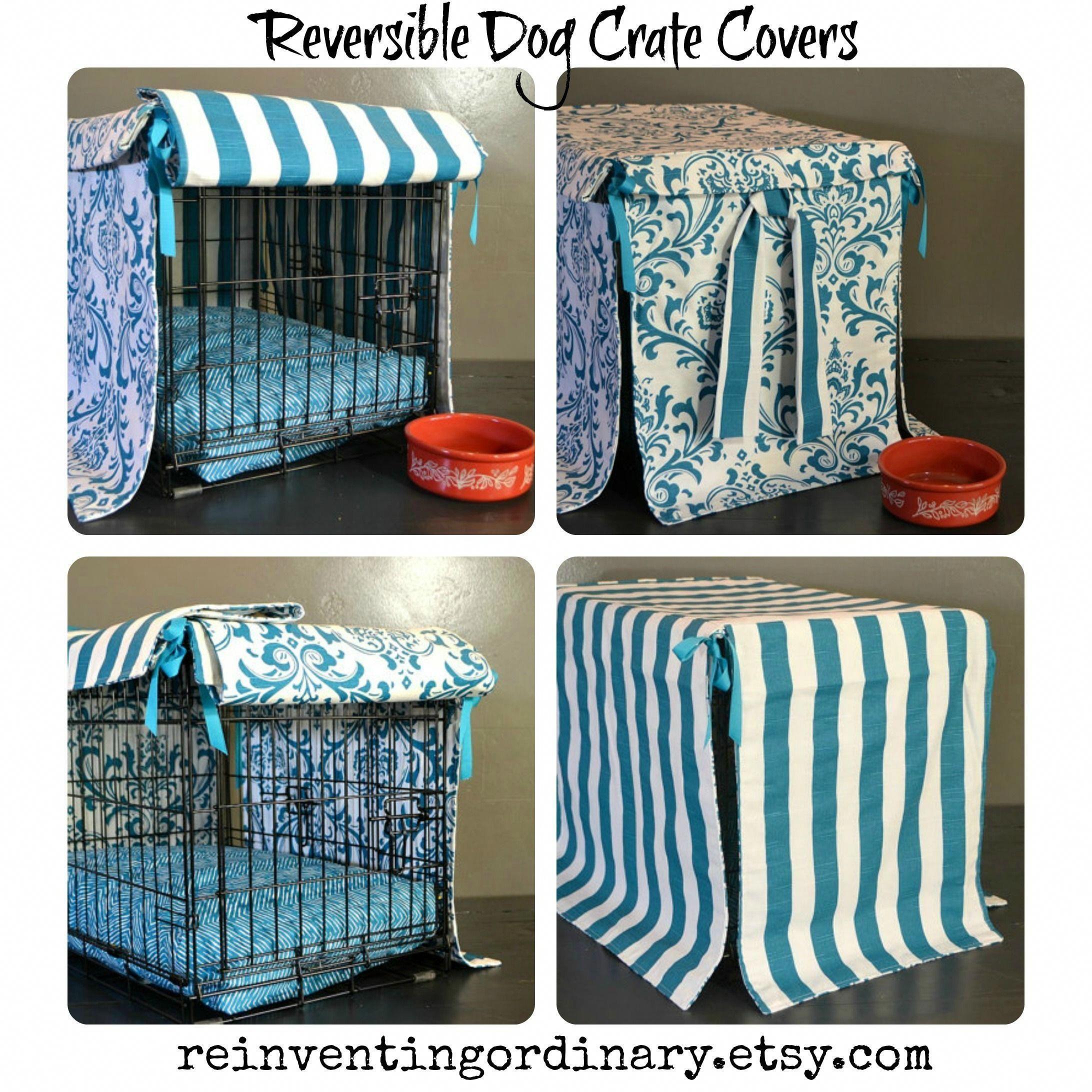 dog crate diy dogcratediy Dog crate cover, Crate cover