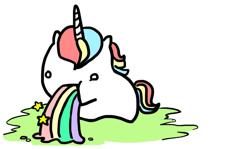 Unicorn Clipart Black And White Free Clipart Images Cliparting Com Barfing Rainbows Rainbow Clipart Unicorn Wallpaper