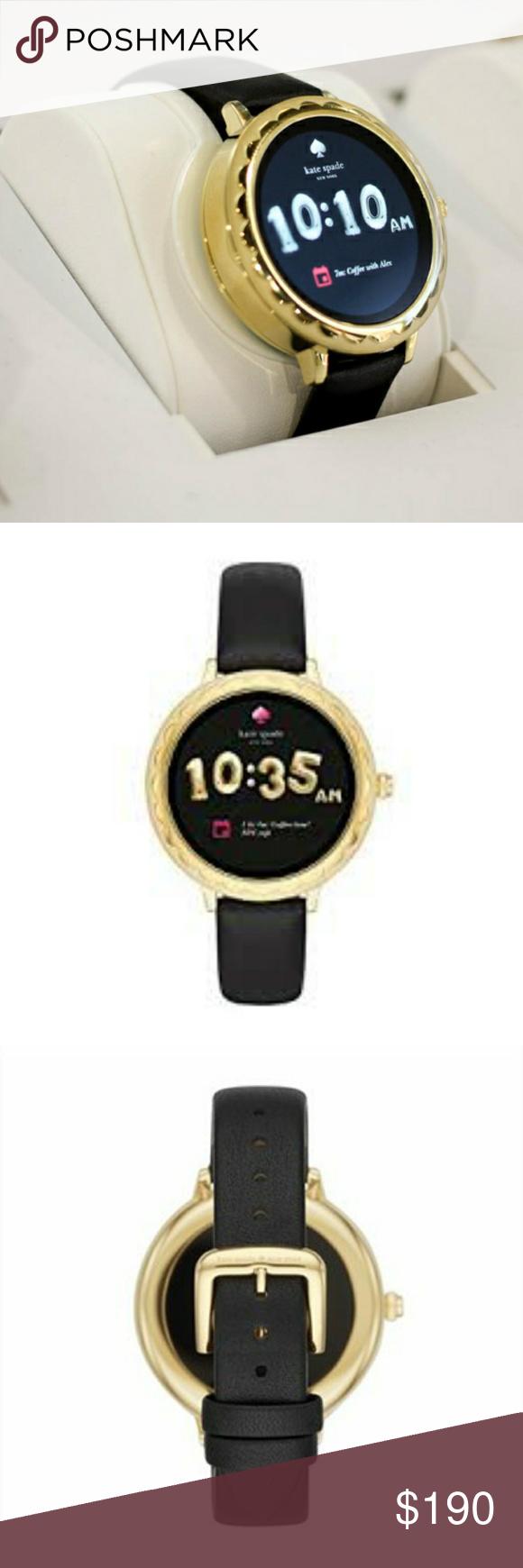 Kate Spade Touchscreen Smartwatch ♠ EUC Style KST2001