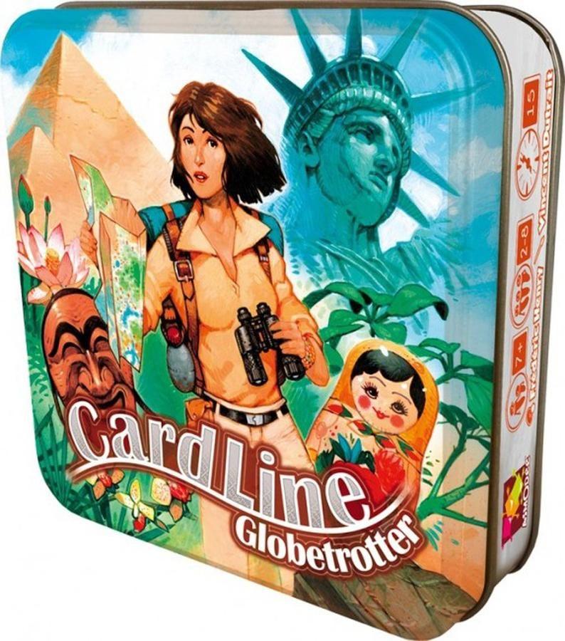 Cardline Globettroter Family Game Family games, Globe