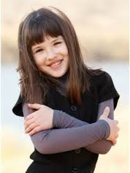 Image result for medium  hairstyles for little girls bangs