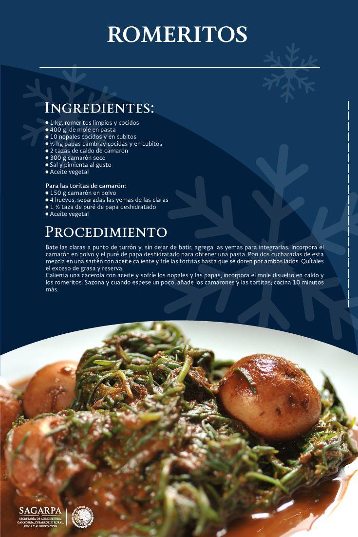 Romeritos sagarpa sagarpamx somosproductores mi cocina - Cocina navidena espanola ...