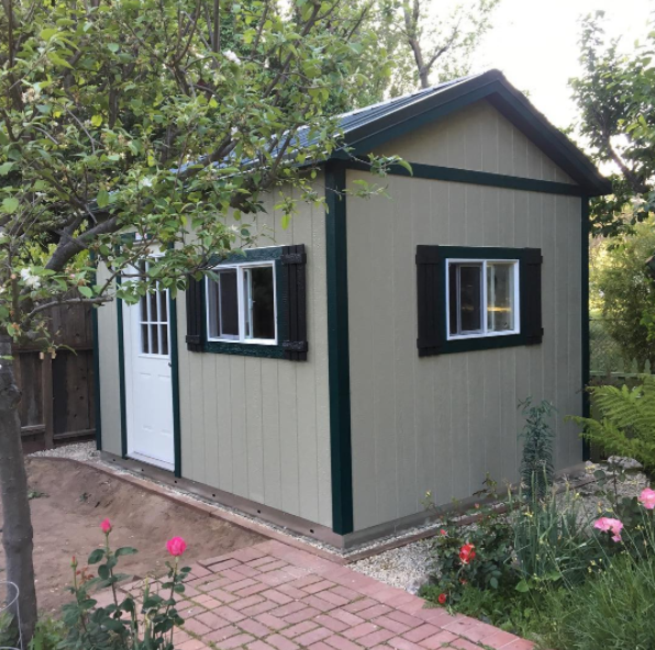 Storage Shed Construction in 2019 | Shed construction ...