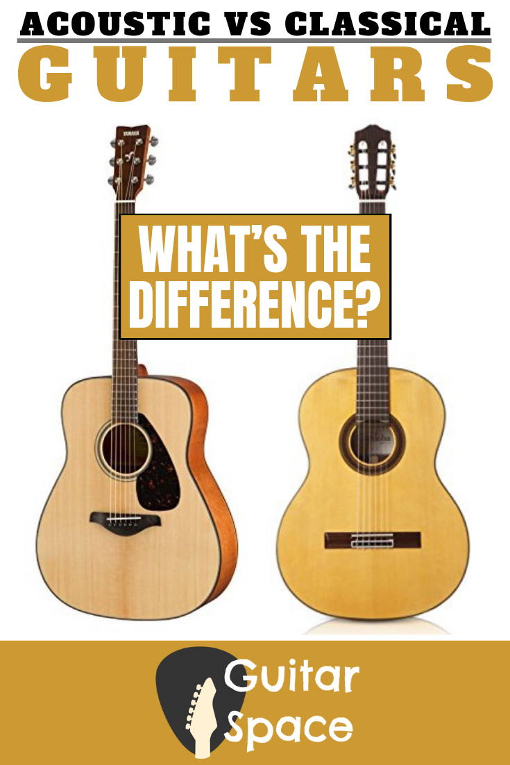 Acoustic Vs Classical Guitars What S The Difference Guitar Classical Guitar Guitar Reviews