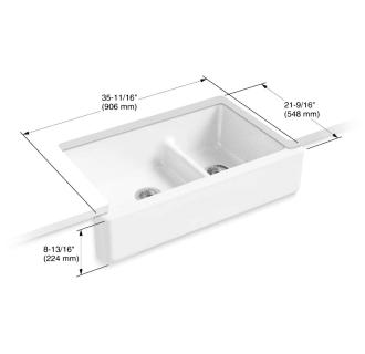 Kohler K 6427 Cast Iron Kitchen Sinks Sink Double Basin