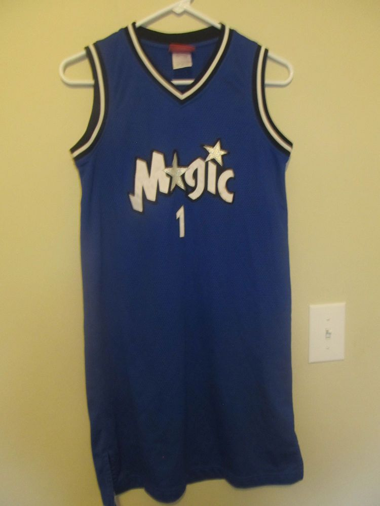 buy online 49ca8 15e2f Details about Tracy McGrady - Orlando Magic jersey / Dress ...