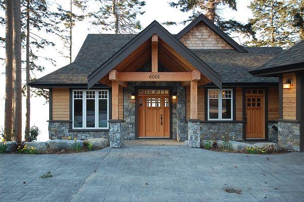 Custom Homes Wakefield Construction Inc Ranch House Exterior