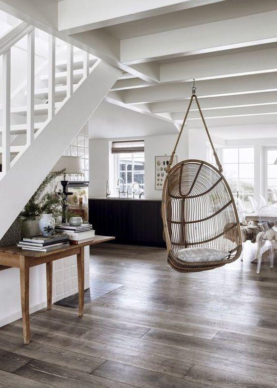 Decoración con sillas colgantes Take a Seat Pinterest Interiors