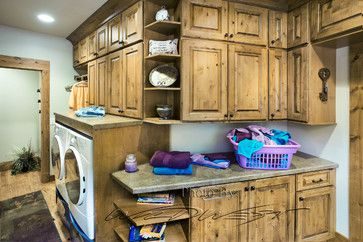 Laundry Photos Rustic Design, Pictures, Remodel, Decor and Ideas - page 2
