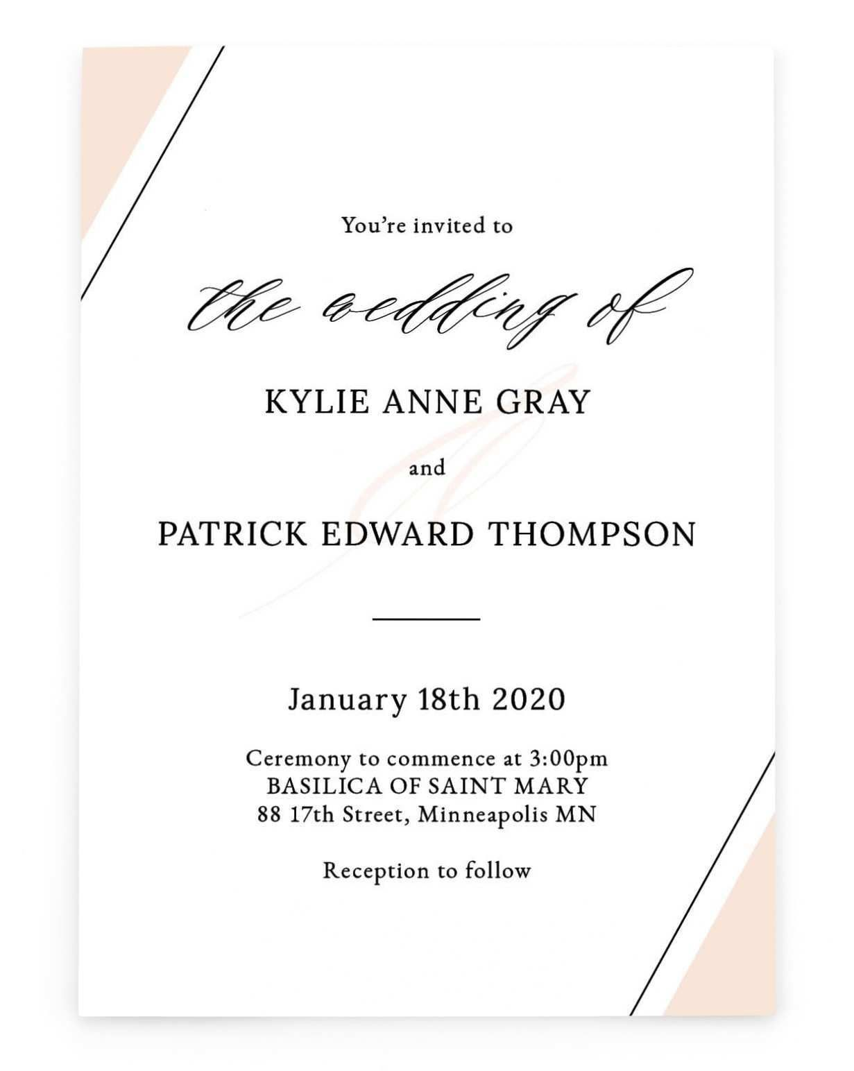 8 Top Image Card Format For Wedding Marriage Invitation Card Sample Wedding Invitation Wording Invitation Card Format