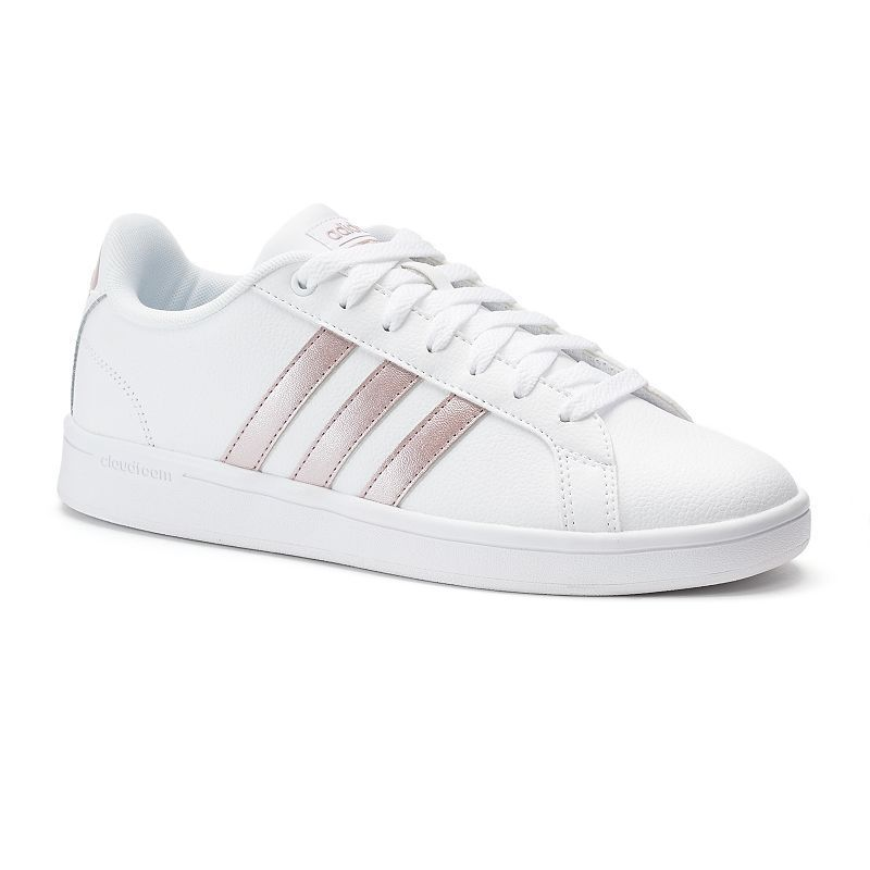 762bd61b5cc1e Adidas NEO Cloudfoam Advantage Stripe Women s Shoes