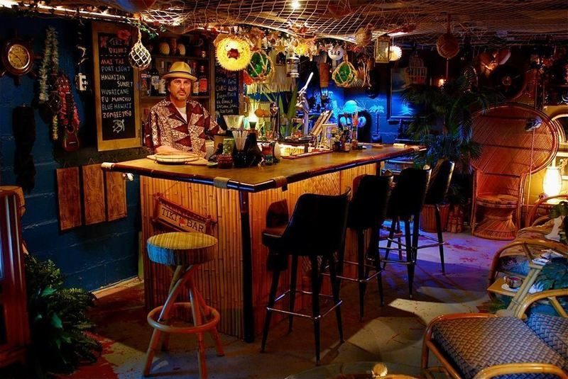 Mai Tiki Bar Is The Home Tiki Bar Of Indianapolis
