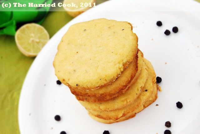 Lime & Pepper Cookies