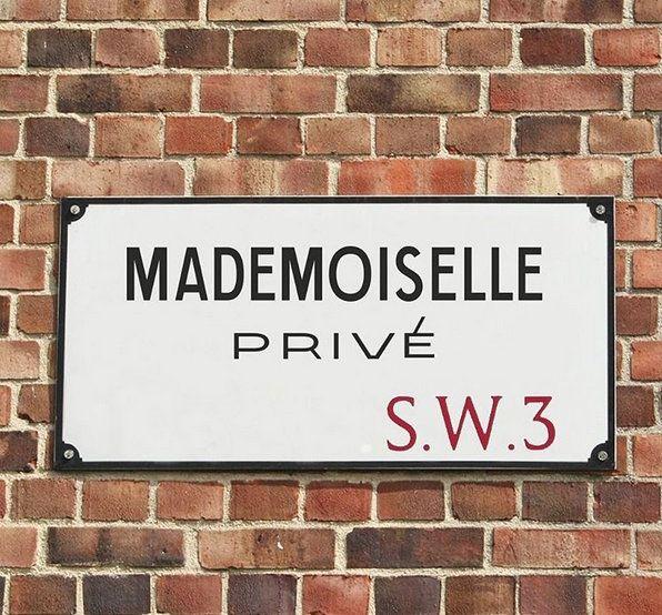 #MademoisellePrivé opening in London