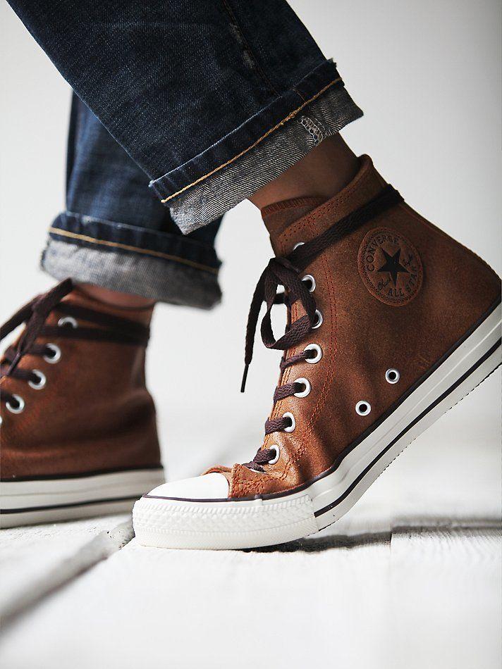 vintage leather converse