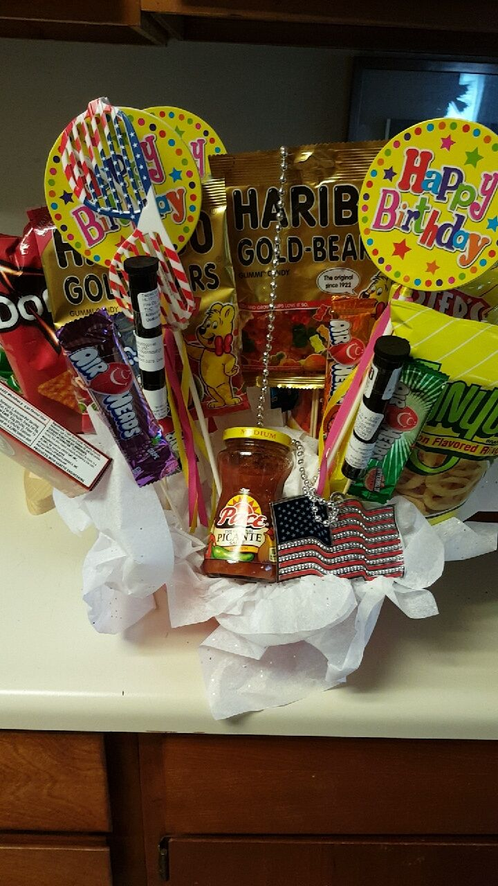 Made Him A Stoner Basket For His Bday