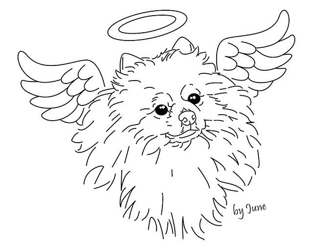 Pepsia pom angel embroidery pattern for AlwaysInspired