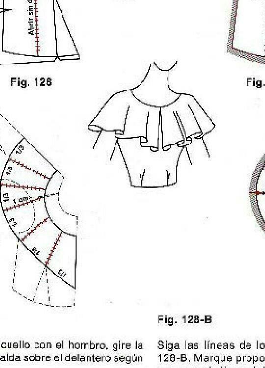 Pin de Suelen Cezero en blusas | Pinterest | Molde, Costura y ...