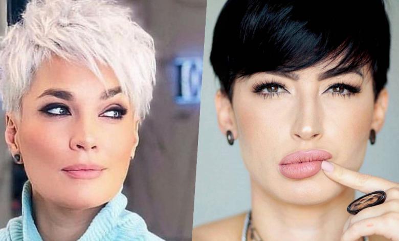 Super Susse Looks Mit Kurzen Frisuren Fur Runde Gesichter In 2020 Frisuren Rundes Gesicht Rundes Gesicht Frisur Gesichtsform