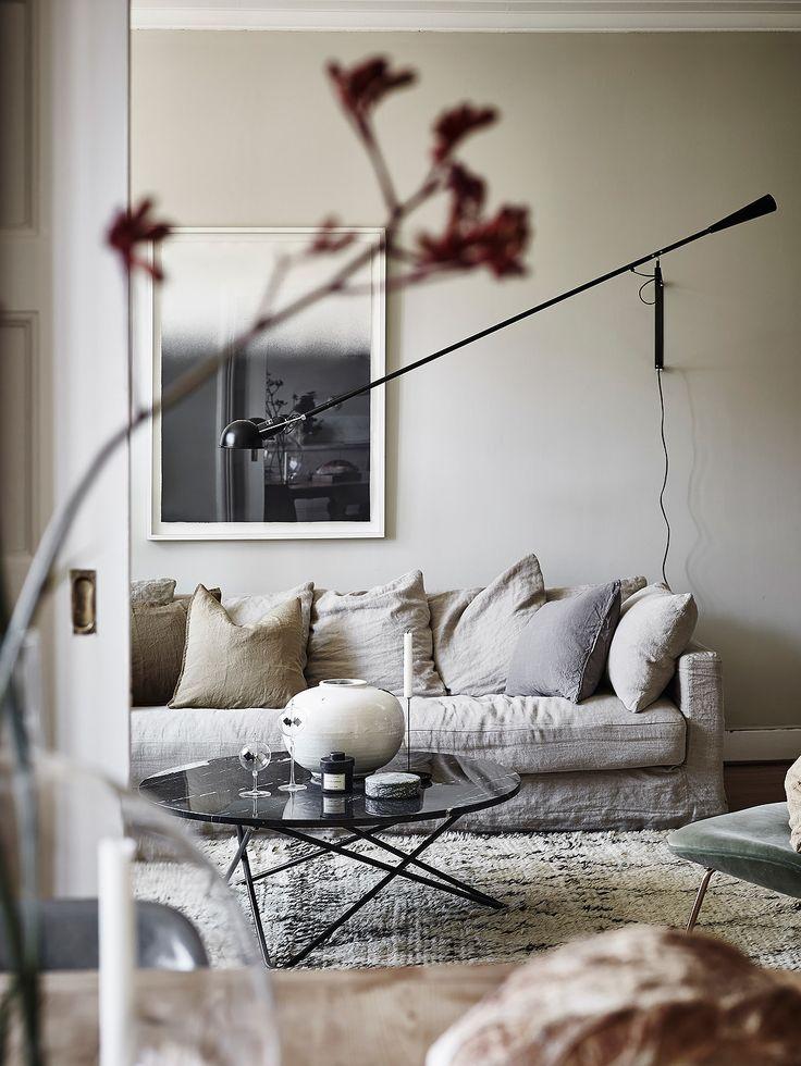 Gemütliches Wohnzimmer - kuschelig und gemütlich sofas - gemütliches sofa wohnzimmer