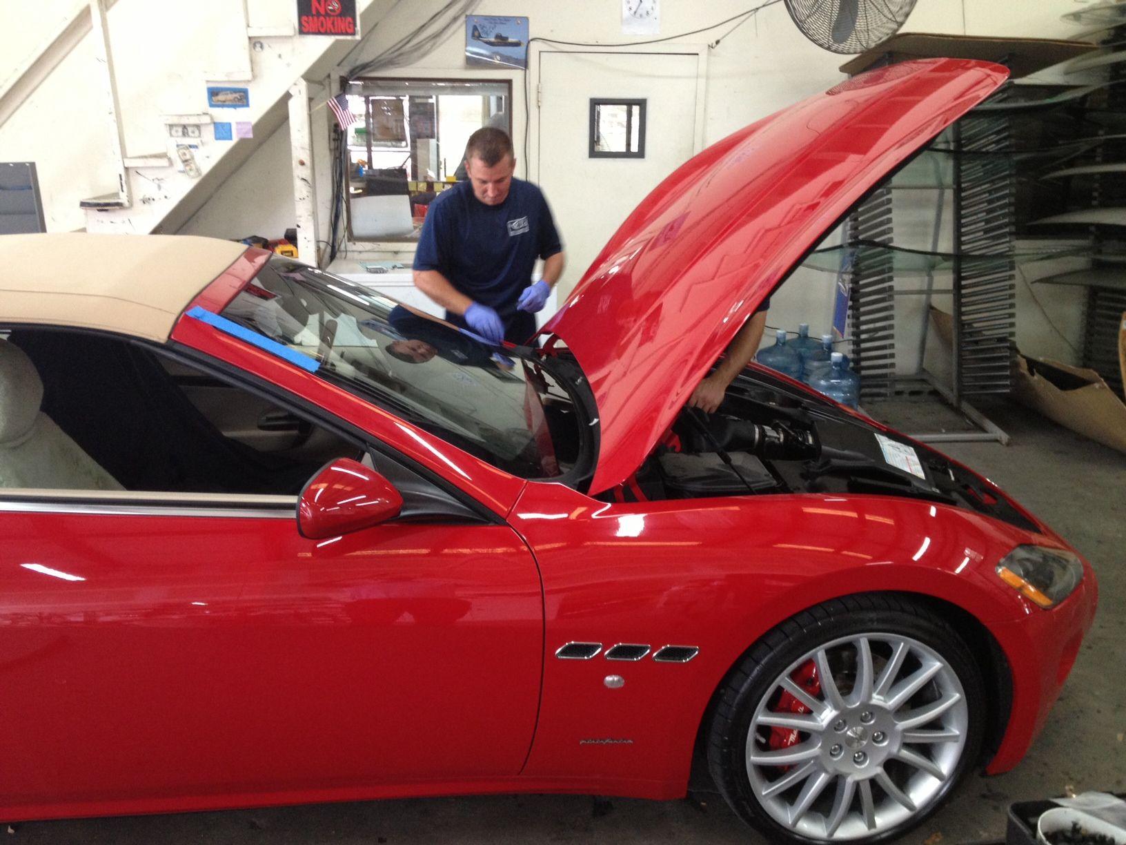 Maserati Nice Car Right Taken At The Pensacola Shop Cool Cars Windshield Car