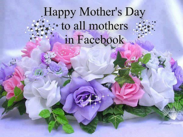 Happy Mother's Day! To my friends on this Mother's Day! Hope each of you had a great day full of love and fun! May God continue to bless each one of you! Love you all!