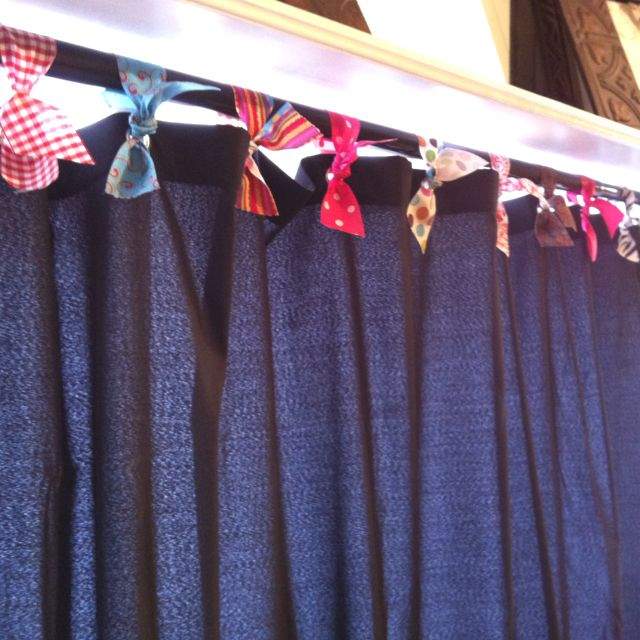 Ribbon Shower Curtain Hooks