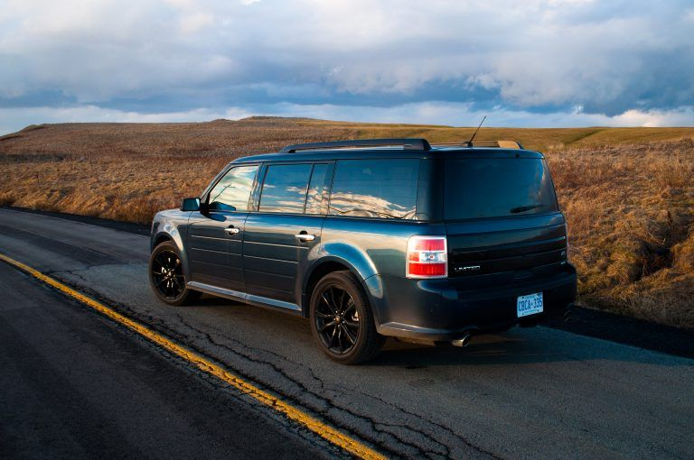 2017 Ford Flex Limited Ecoboost Blue Jeans Image C Timothy Cain