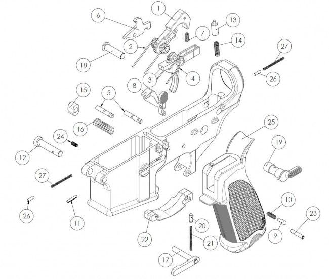 Image Result For Ar 15 Lower Parts List
