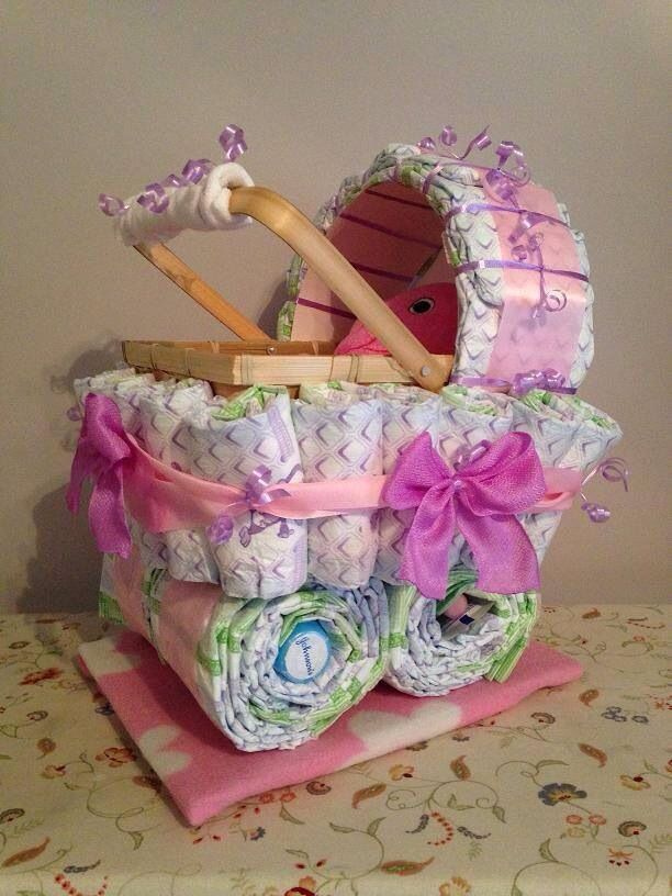 Diaper cradles!