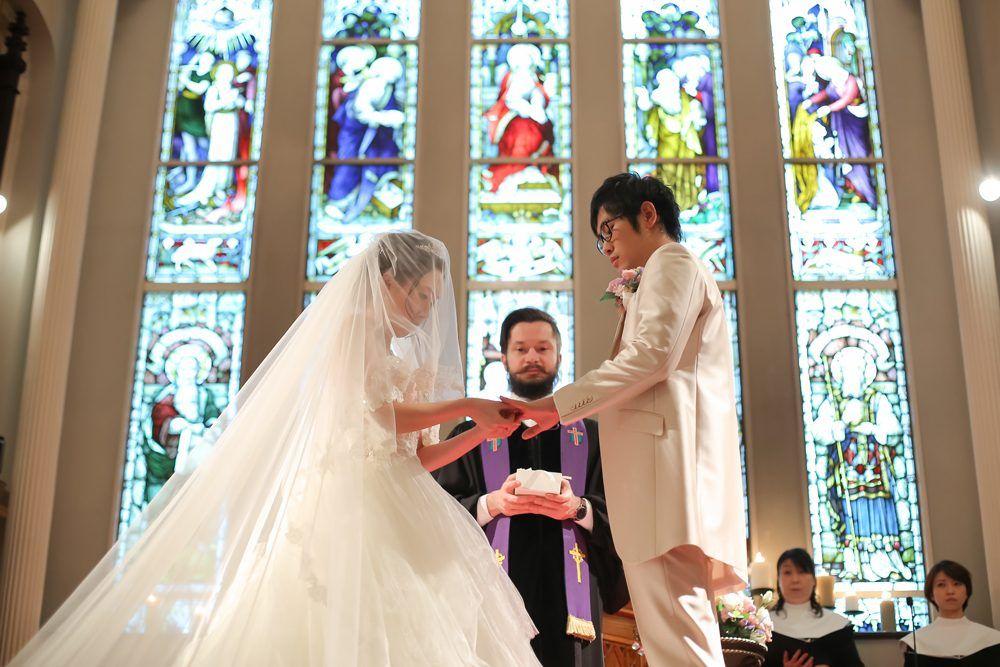 大阪心斎橋の教会ウェディング 結婚式場 大阪セントバース教会 教会 ウェディング ウェディング ウエディング