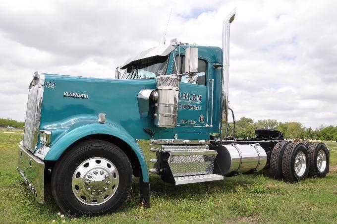 1999 Kenworth W900l Daycab Big Rig Trucks Big Trucks Kenworth Trucks