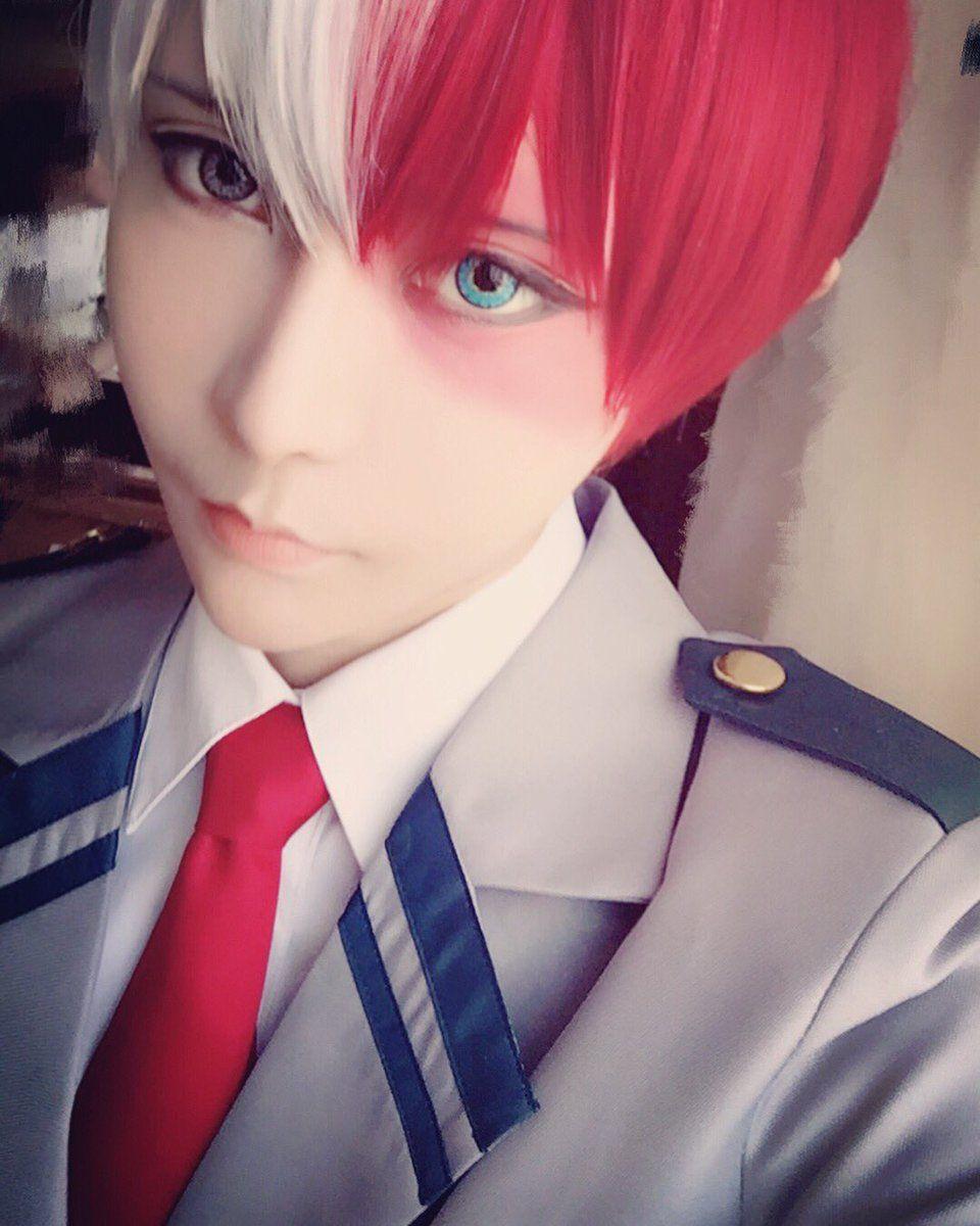 Todoroki Shouto #myheroacademia #cosplay   Todoroki ...