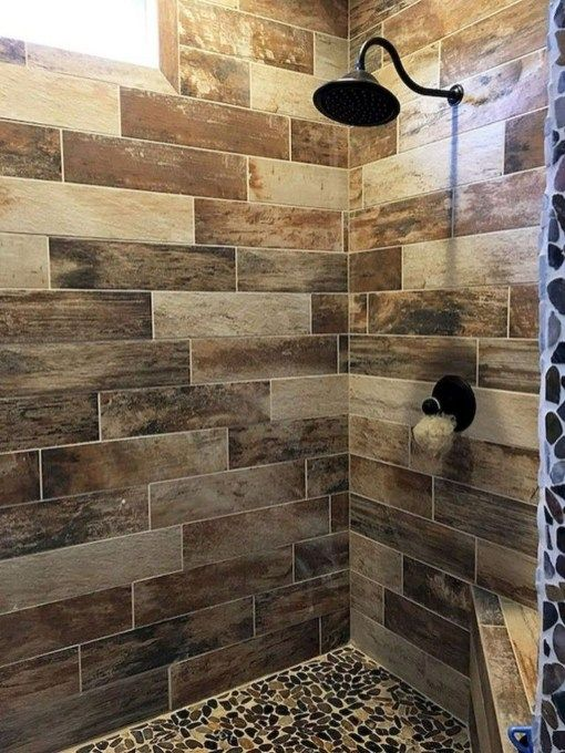 Bathroom Remodel With Stikwood: Impressive Bathroom Shower Remodel Ideas 25