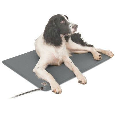 K H Deluxe Lectro Kennel Heated Pad Dog Pads Dog Crate Heated Dog Bed