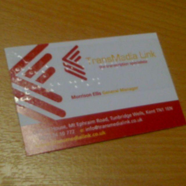 Braille business card braille pinterest braille business card colourmoves