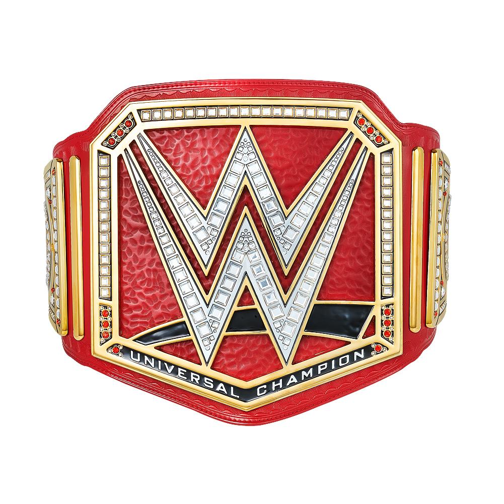 Wwe Universal Championship Red Wwe Belts Wwe Wwe Logo