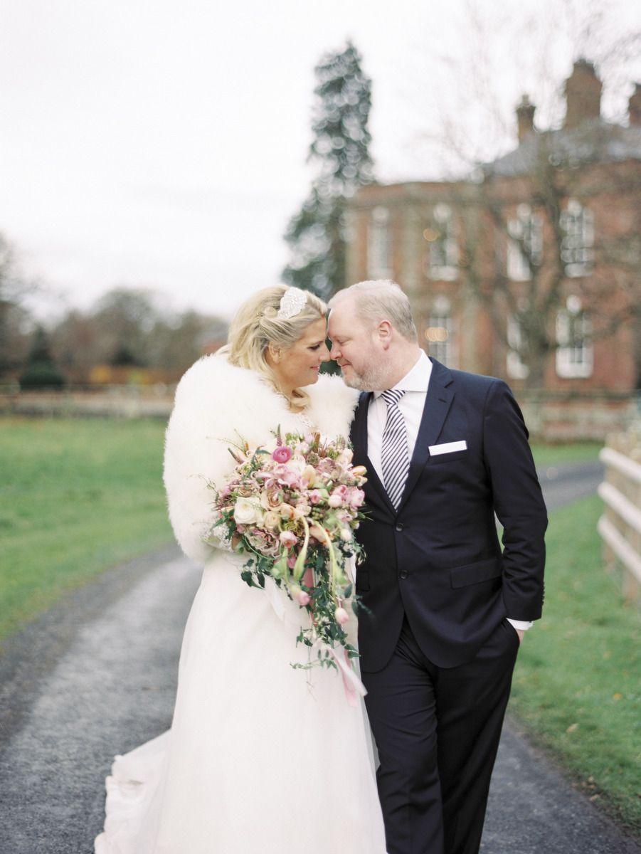 Glamorous pink english wedding wedding bridal bouquets