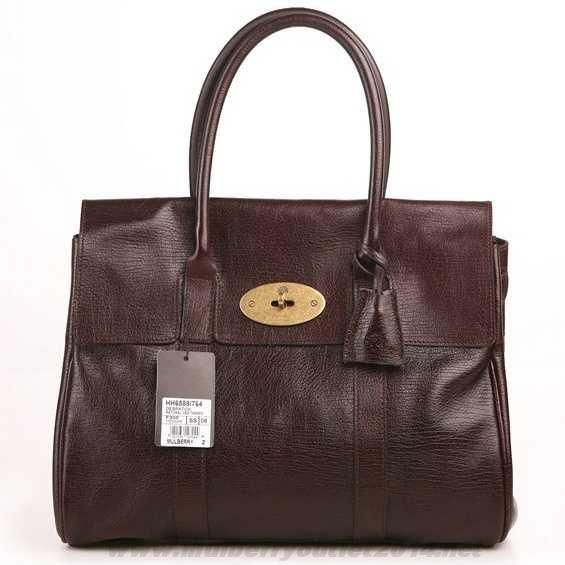New Womens Mulberry Bayswater Shoulder Bag Dark Coffee For Cyber Monday