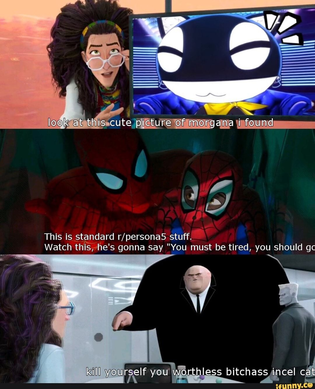 This Is stªndard r/persona5 stuff. Watch th'IsThe's gonna