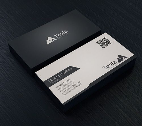 Minimal Business Card Template Business Card Pinterest - It business card templates
