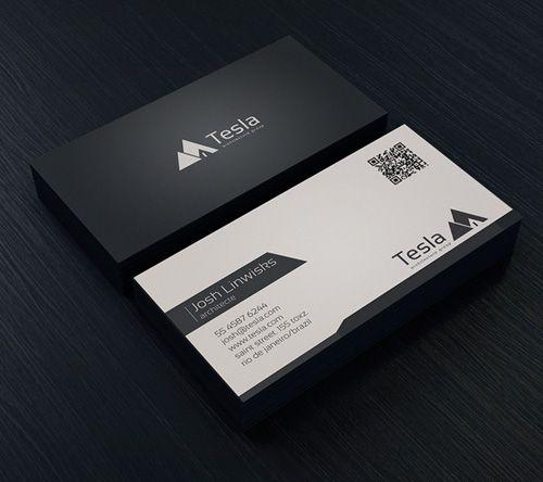 Minimal Business Card Template Business Card Pinterest - It business card templates