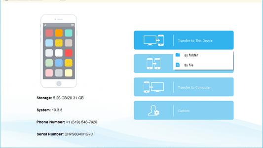 Mobimover برنامج النسخ الاحتياطي للايفون واسترجاع الصور والملفات Phone Numbers Phone Folders